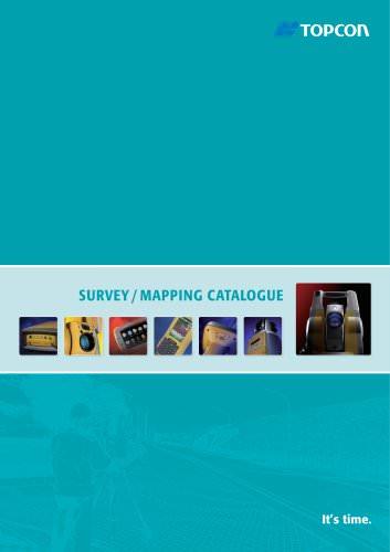 Survey / Mapping CATALOGUE