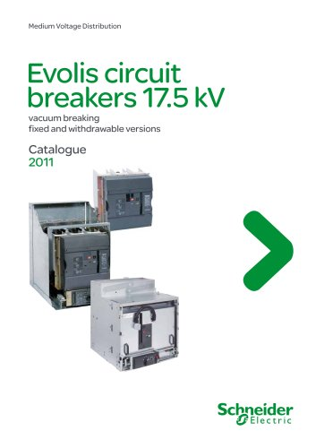 Catalogue Evolis circuit breakers 17.5kV