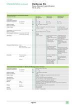 Catalogue Osisense XG - 15
