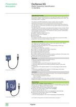 Catalogue Osisense XG - 8