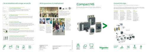 Compact NS |LV circuit-breakers from 16 to 3200 A