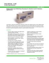 Models CFS10 and CFS20 Mass Flowtubes for Standard and 3-A Sanitary Applications - 1