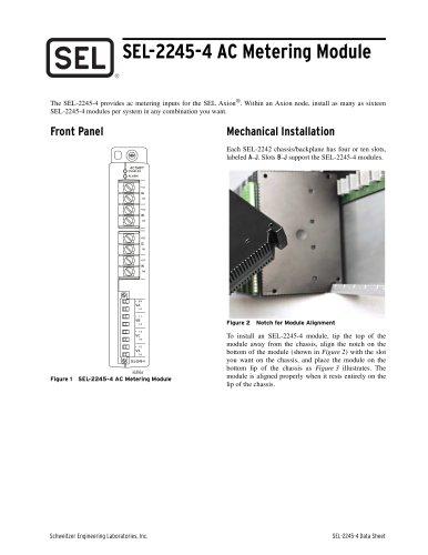 SEL-2245-4 AC Metering Module