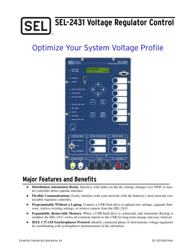 SEL-2440 Discrete Programmable Automation Controller