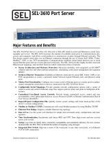 SEL-3610 Port Server
