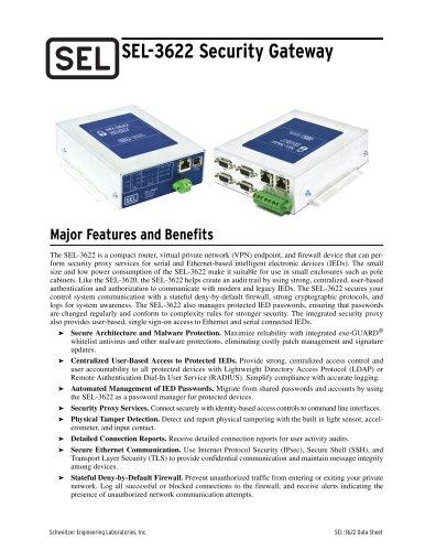 SEL-3622 Security Gateway