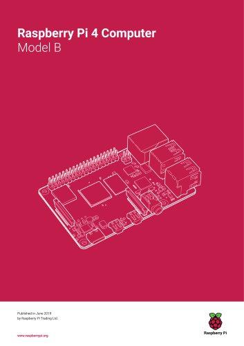 Raspberry Pi 4 Computer Model B