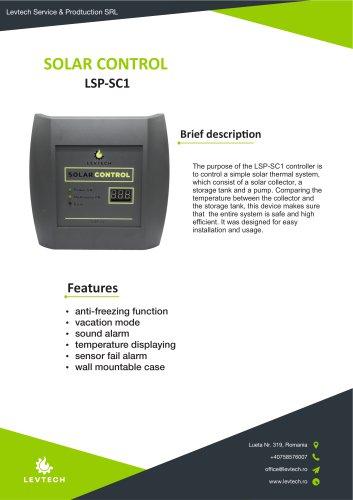 SOLAR CONTROL LSP-SC1