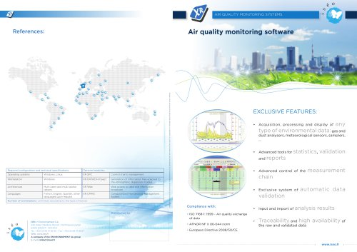 Air quality data acquisition and processing software