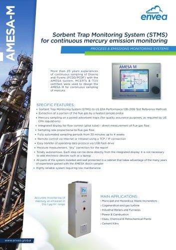 Amesa-M Mercury Sampler (Hg)