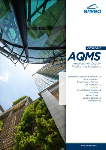 AQMS Air quality Monitoring Systems Catalogue
