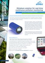Cairsens - new generation of air quality & odors monitoring sensors