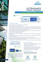E-Series - 0342e - ozone analyzer for air quaity monitoring