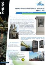 Mercury monitoring system for natural gas MMS-NG