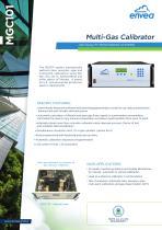MGC101- Multi-Gas Calibrator
