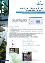 PM162M particulate automatic sampler : PM10, PM2.5, PM1, TSP particulates