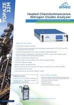 Topaze32M-Heated Chemiluminescence Nitrogen Oxides Analyzer - NOx