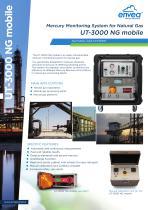 UT3000-NG mobile MERCURY ULTRATRACER Natural Gas ENVEA