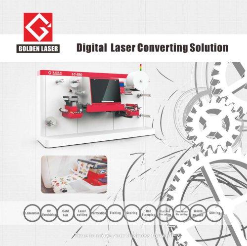 Label Laser Die Cutting Machine LC350