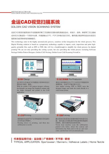 Sublimation Fabric Laser Cutting Machine with Vision Scanning System CJGV-160130LD