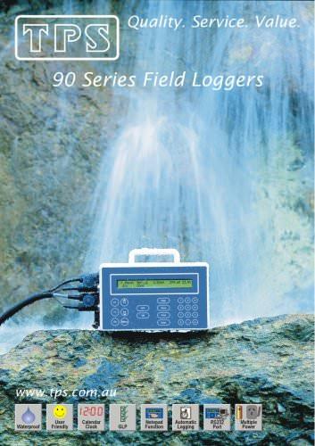 90 Series Waterproof  Field Loggers