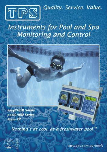 Pool Products easyCHEM Series, poolCHEM Series, Aqua-TP