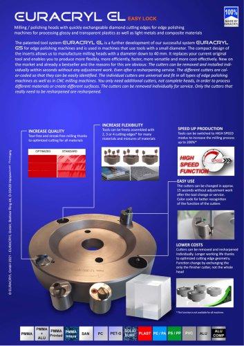 EURACRYL EL with EASY LOCK system