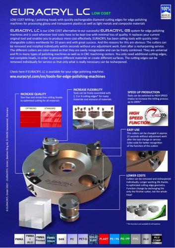 EURACRYL LC low cost polishing heads