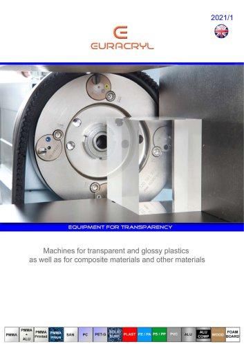 EURACRYL - Machines for glossy plastics