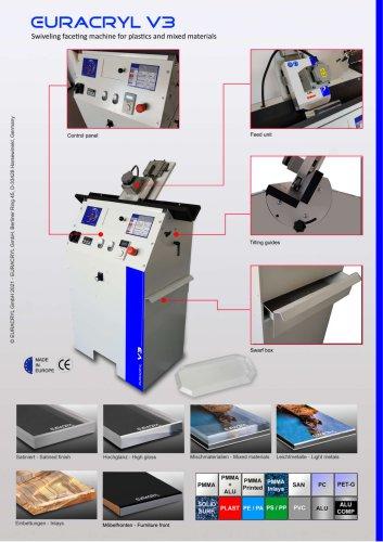 EURACRYL V3 - Facetting & polishing machine