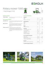 Rotary mower 1000 - Park Ranger 2150