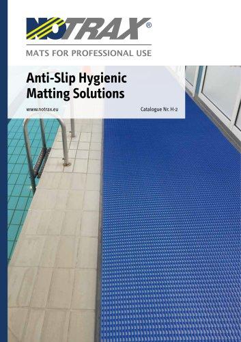 Anti-Slip Hygienic Matting Solutions