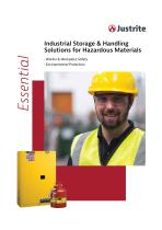 Industrial Storage & Handling Solutions for Hazardous Materials