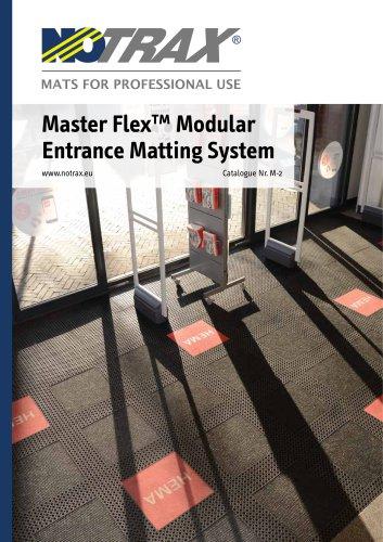 Master Flex™ Modular Entrance Matting System # 2