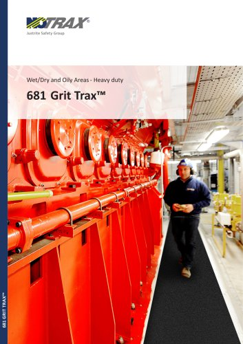Wet/Dry and Oily Areas- Heavy duty 681 Grit Trax™