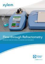 Flow-through Refractometry