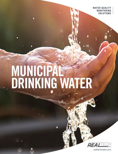 Drinking Water Monitoring Applications - Real Tech