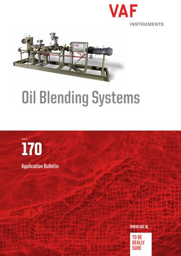 Oil Blending Systems