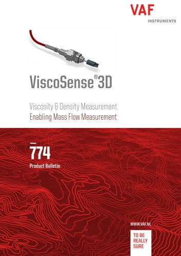 ViscoSense®3D Viscosity & Density Measurement