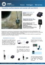 Capacitive overflow detector and recorder LSC and CSCV3