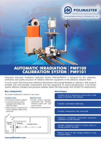 AUTOMATIC IRRADIATION CALIBRATION SYSTEM
