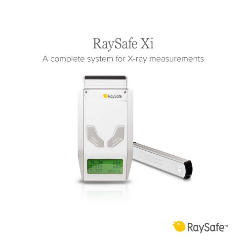 RaySafe Xi