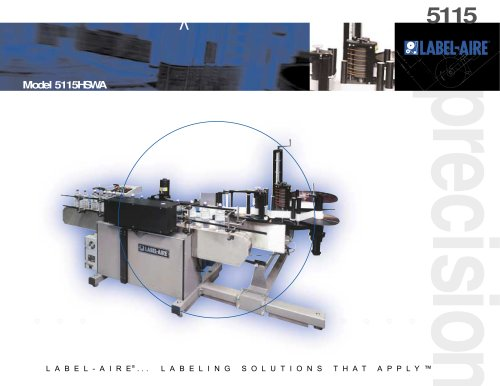 5115 HSWA Bottle Labeler