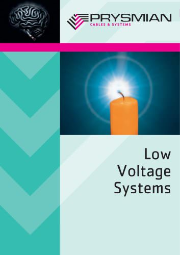 Low Voltage Systems Cables And Accessories For Lv Distribution Systems Prysmian Group Pdf Catalogs Technical Documentation Brochure