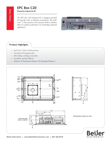 EPC Box C2D