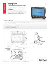 Full featured TREQ-DX mobile data terminal data sheet - 1