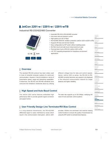 JetCon 2201-w / 2201i-w / 2201i-wTB