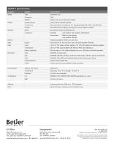 Rugged QTERM-II character terminal data sheet - 2
