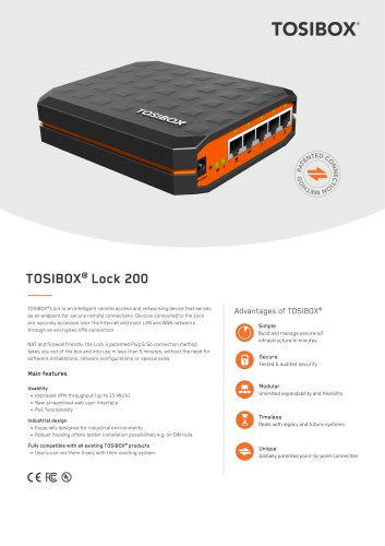 TOSIBOX® Lock 200