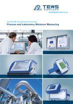 Process and Laboratory Moisture Measuring